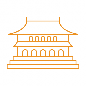 Icon Graphic - #SimpleIcon #IconElement #monuments #supreme #harmony #china #hall #beijing