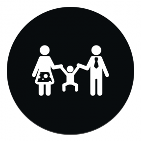 Icon Graphic - #SimpleIcon #IconElement #people #woman #symbol #black #geometrical #shape #couple