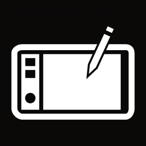 Icon Graphic - #SimpleIcon #IconElement #print #computer #writing #pencil #electronic #products #and #tool #utensils #Tools