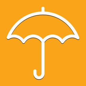Icon Graphic - #SimpleIcon #IconElement #protection #umbrellas #rainy #weather #umbrella
