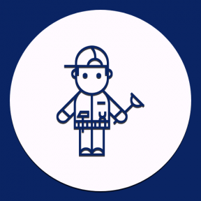 Icon Graphic - #SimpleIcon #IconElement #shapes #repair #black #shape #worker #circles