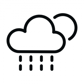 Icon Graphic - #SimpleIcon #IconElement #sun #cloud #moon #rainy #meteorology #weather