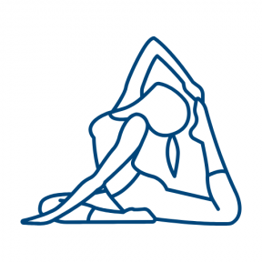Icon Graphic - #SimpleIcon #IconElement #yoga #pilates #sports #sport #exercise #calm #relax