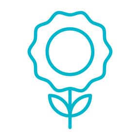 Icon Graphic - #SimpleIcon #IconElement #blossom #nature #garden #flower #plant #flowers