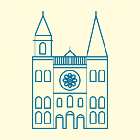 Icon Graphic - #SimpleIcon #IconElement #france #cathedral #monuments #catholic #chartres