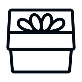 Icon Graphic - #SimpleIcon #IconElement #gift #surprise #christmas #ribbon #present #giftboxes