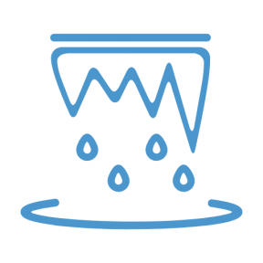 Icon Graphic - #SimpleIcon #IconElement #icicle #weather #ice #cold #winter