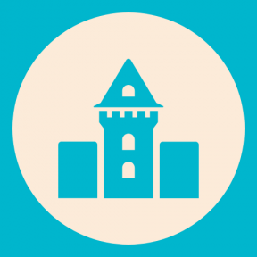 Icon Graphic - #SimpleIcon #IconElement #medieval #buildings #circular #queen #symbols #fortress #kingdom