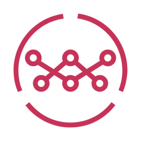 Icon Graphic - #SimpleIcon #IconElement #network #business #connection #scheme #networking #circles