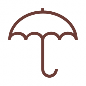 Icon Graphic - #SimpleIcon #IconElement #rain #Tools #rainy #and #protection #meteorology #weather #utensils #umbrella