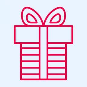 Icon Graphic - #SimpleIcon #IconElement #ribbon #surprise #present #gift #birthday