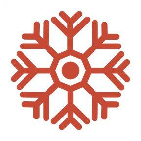 Icon Graphic - #SimpleIcon #IconElement #weather #winter #frost #snow #cold