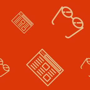 Pattern Design - #IconPattern #PatternBackground #optic #glasses #eyeglasses #website #reader #page #browser #web