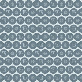 Pattern Design - #IconPattern #PatternBackground #shape #sea #poem #write #pen #geometrical #circular #black