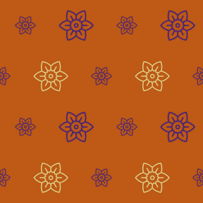 Pattern Design - #IconPattern #PatternBackground #flower #blossom #botanical #petals #nature #daffodil