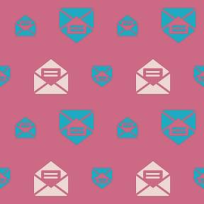 Pattern Design - #IconPattern #PatternBackground #envelope #interface #mail #message #email #note