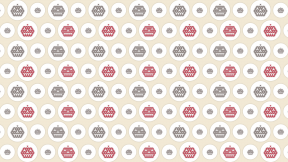 HD Pattern Design - #IconPattern #HDPatternBackground #pumpkin #add #circle #face #triangles #small #faces #adding