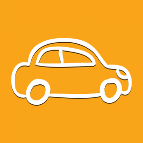 Icon Graphic - #SimpleIcon #IconElement #transportation #outline #transports #drawn #view #car #side
