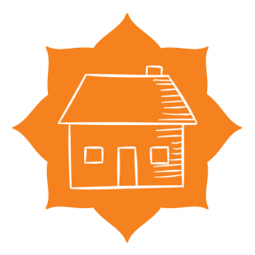 Icon Graphic - #SimpleIcon #IconElement #background #strips #frames #houses #corners #stars