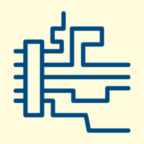 Icon Graphic - #SimpleIcon #IconElement #computer #lines #line #group #technology #motherboard