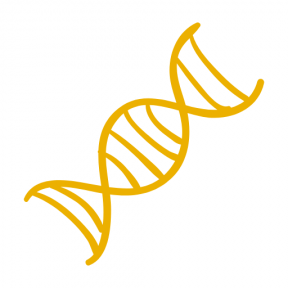 Icon Graphic - #SimpleIcon #IconElement #dna #chain #shape #education #science #hand #drawn #educational