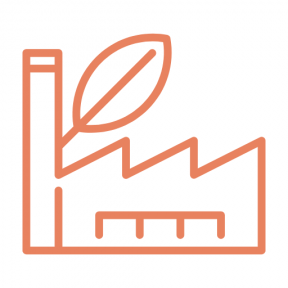 Icon Graphic - #SimpleIcon #IconElement #ecological #leaf #industry #industrial #ecologic