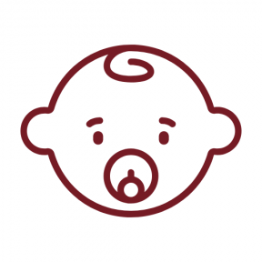 Icon Graphic - #SimpleIcon #IconElement #head #child #face #people #motherhood #kids