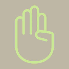 Icon Graphic - #SimpleIcon #IconElement #parts #palms #body #hands #palm #hand