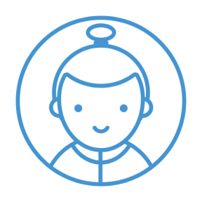Icon Graphic - #SimpleIcon #IconElement #people #halo #circle #halloween #carnival #avatar