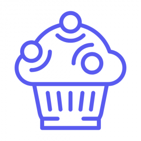 Icon Graphic - #SimpleIcon #IconElement #supermarket #bakery #food #dessert #sweet #baker