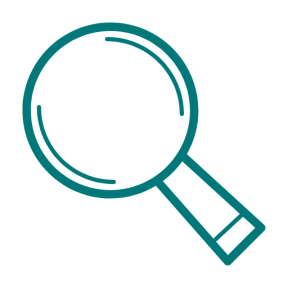 Icon Graphic - #SimpleIcon #IconElement #zoom #searching #glass #detective #search #magnifying