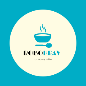 Logo Design - #Branding #Logo #shapes #drum #bowl #black #view #soup #circular