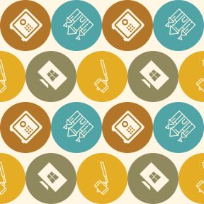 Pattern Design - #IconPattern #PatternBackground #monuments #park #amusement #box #shapes #photography #stick