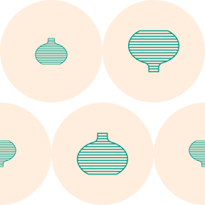 Pattern Design - #IconPattern #PatternBackground #decoration #circular #circles #rounded #home #decorative