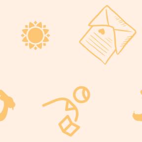 Pattern Design - #IconPattern #PatternBackground #studying #shapes #envelope #animals #education #reading