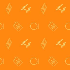 Pattern Design - #IconPattern #PatternBackground #shapes #winter #Warm #stretching #man #circle #greetings #machine #merry