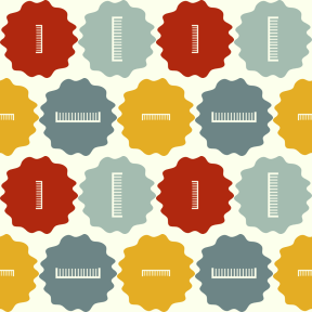 Pattern Design - #IconPattern #PatternBackground #fancy #salon #frame #scalloped #grungy #raggedborders