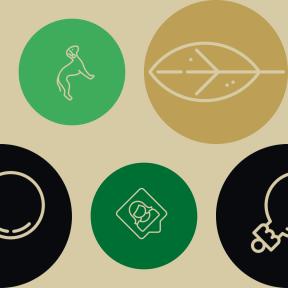 Pattern Design - #IconPattern #PatternBackground #mammal #decoration #people #round #femenine #animals #ecological