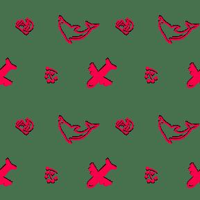 Pattern Design - #IconPattern #PatternBackground #banana #milky #animals #wildlife #life #diagram #flight #dolphin #fruit