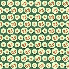 Pattern Design - #IconPattern #PatternBackground #circles #view #black #science #bird #animal #circular