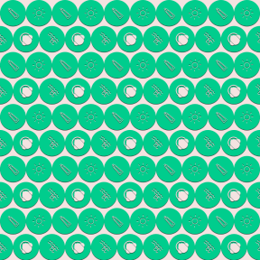 Pattern Design - #IconPattern #PatternBackground #olive #ladder #swimmer #circular #nature #player #headphone #round #food #rounded