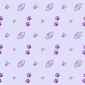 Pattern Design - #IconPattern #PatternBackground #look #interface #animal #ribbons #pet #writing #working #looking