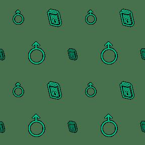 Pattern Design - #IconPattern #PatternBackground #news #interface #mars #men #masculine #boy #text
