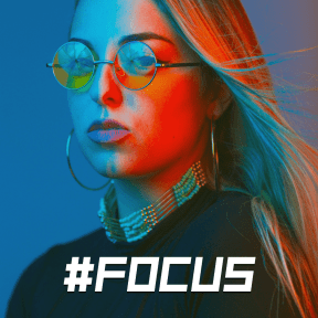 Profile Phote - #Avatar #glasses #blue #sunglasses #face #close #vision #girl #electric #care