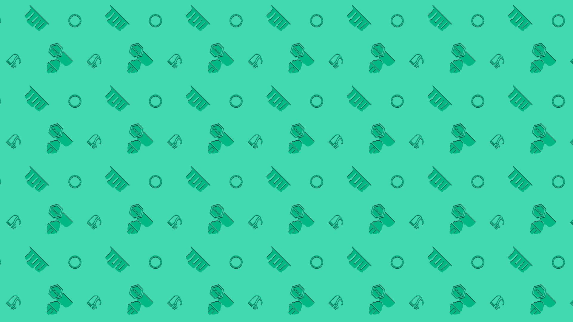 Green, Pattern, Aqua, Grass, Design, Font, Line, Computer, Wallpaper, Fun, Construction, Hard, Man,  Free Image