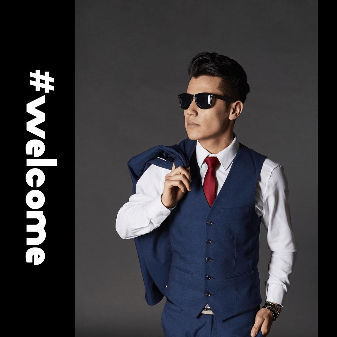 Profile Phote - #Avatar #necktie Design  Template
