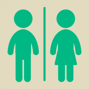 Icon Graphic - #SimpleIcon #IconElement #male #signals #Flags #female #bathroom