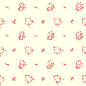Pattern Design - #IconPattern #PatternBackground #dinner #rollers #park #food #animal #italian #ciconiidae #lunch