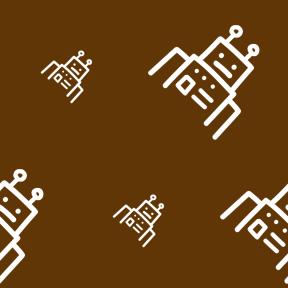 Pattern Design - #IconPattern #PatternBackground #robot #hand #outlined #robots #drawn #technology #outline