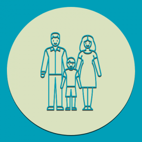 Icon Graphic - #SimpleIcon #IconElement #shapes #circle #husband #people #round #circular #wife #family